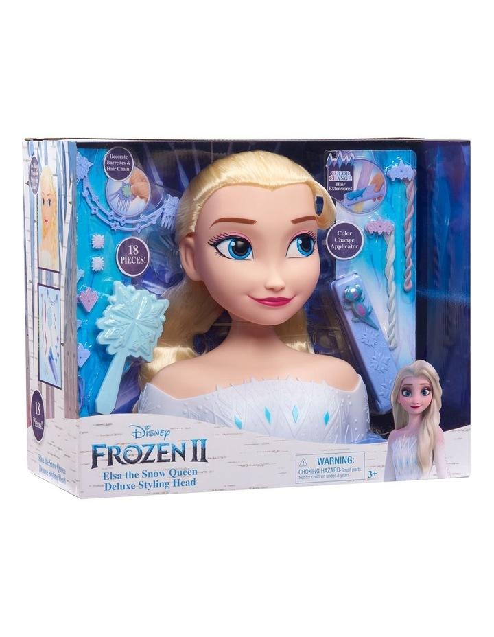 Disney Frozen II Deluxe Elsa Styling Head image 4