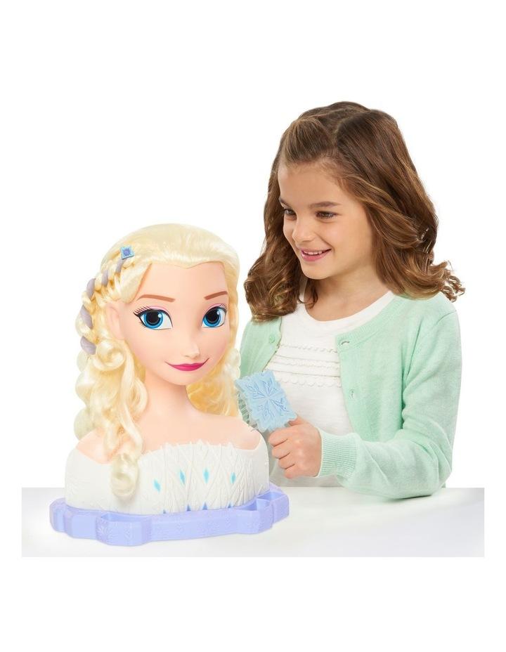 Disney Frozen II Deluxe Elsa Styling Head image 5