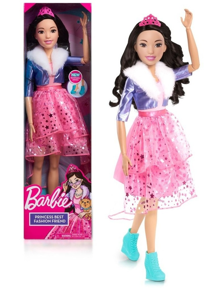 Barbie 28in Doll - Black Hair image 1