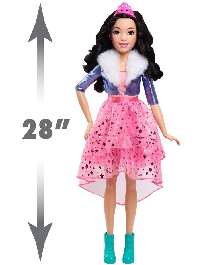 Barbie 28in Doll - Black Hair image 2