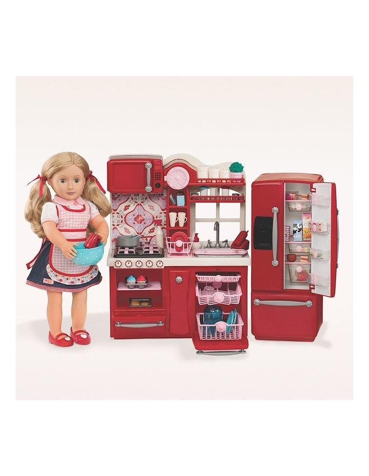Gourmet Kitchen Set Red image 1