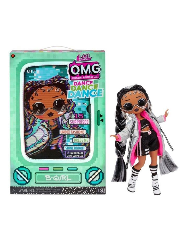 L.O.L Surprise OMG Dance Dance Dance Fashion Doll with 15 Surprises Including Magic Blacklight image 1