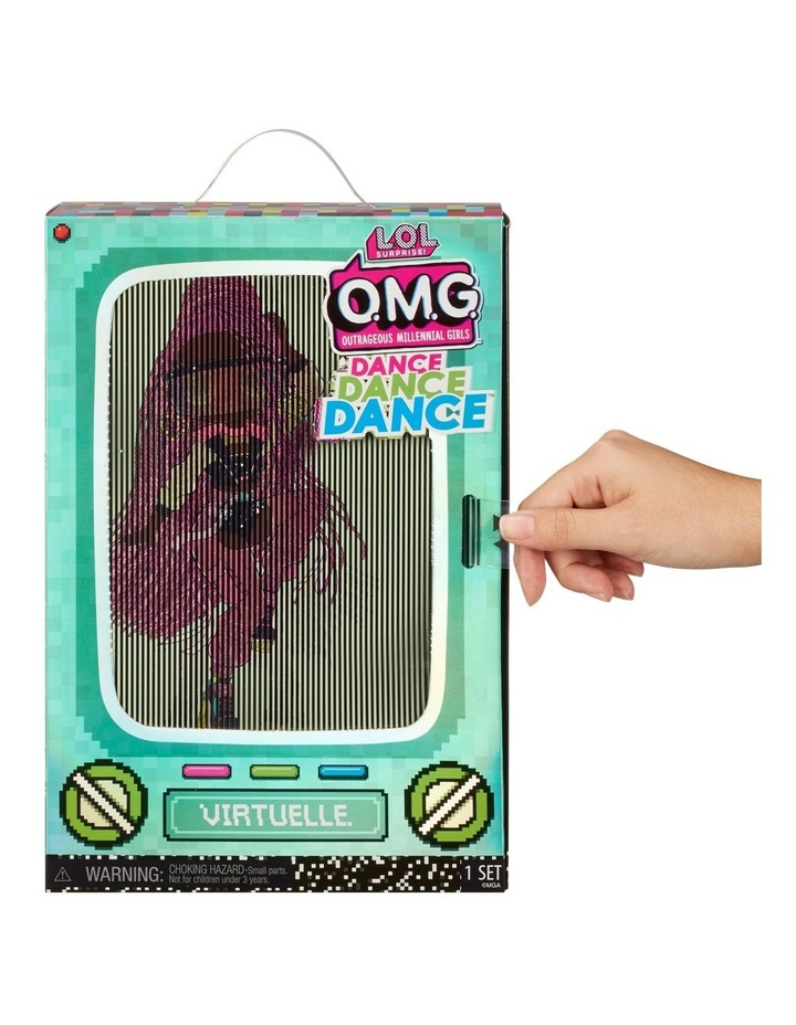 L.O.L Surprise OMG Dance Dance Dance Fashion Doll with 15 Surprises Including Magic Blacklight image 3
