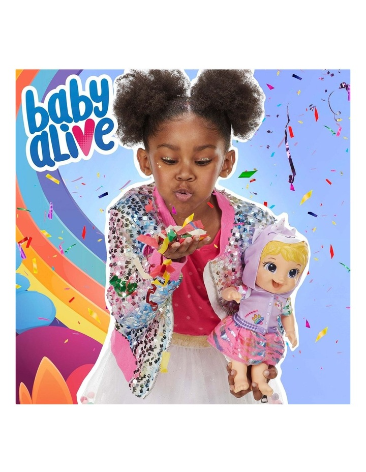 Tinycorns Doll with Unicorn Accessories - Blonde Hair Doll that Drinks & Wets image 4