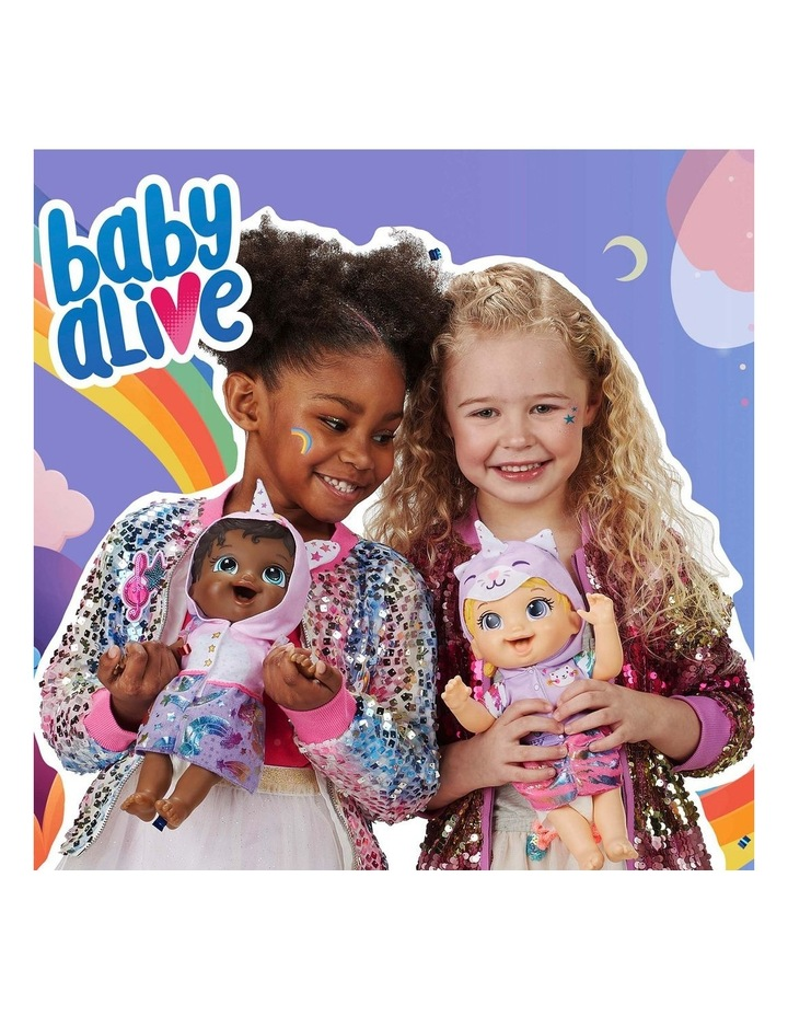 Tinycorns Doll with Unicorn Accessories - Blonde Hair Doll that Drinks & Wets image 5