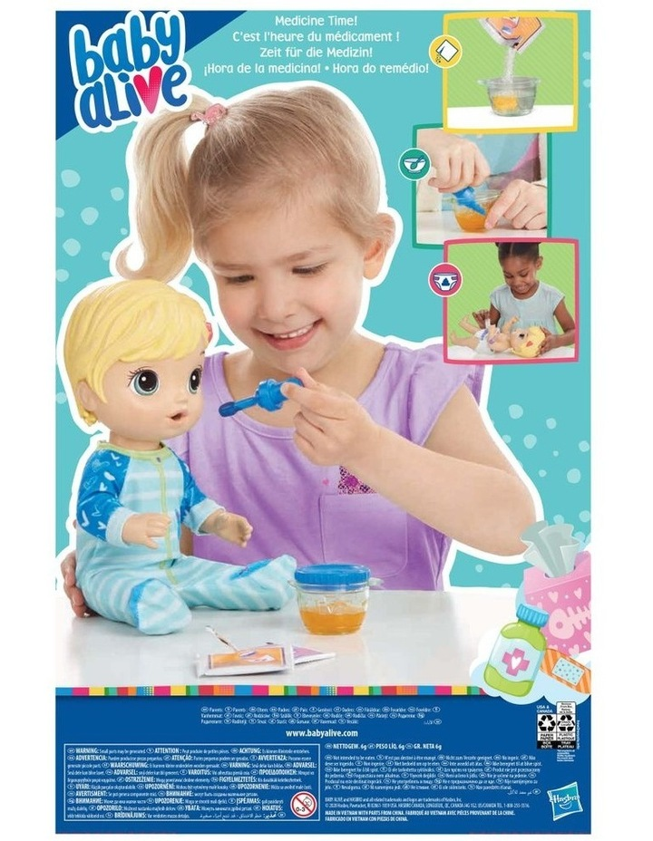 Mix My Medicine Baby Doll in Kitty Cat Pajamas image 3