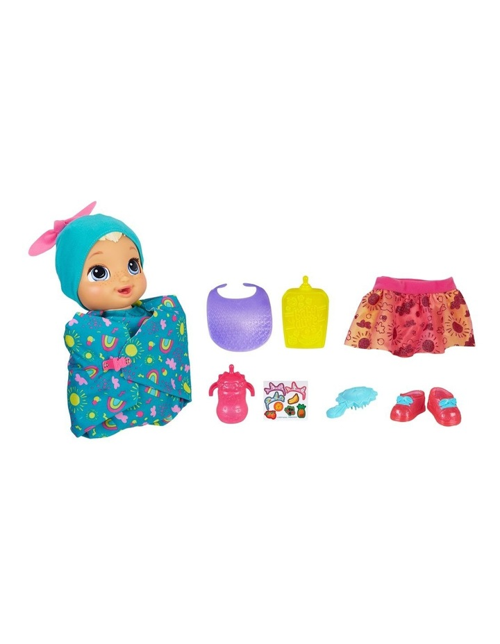 Baby Alive - Baby Grows Up Happy - Happy Hope or Merry Meadow - Growing & Talking Baby Doll with Surprise Accessories image 1