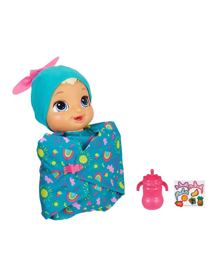 Baby Alive - Baby Grows Up Happy - Happy Hope or Merry Meadow - Growing & Talking Baby Doll with Surprise Accessories image 3