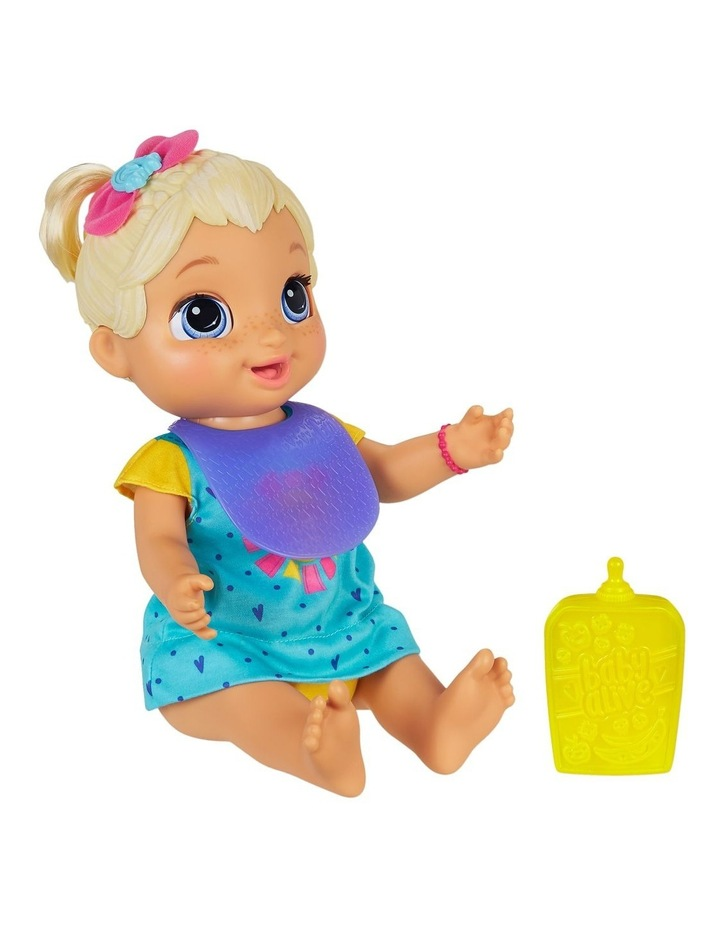Baby Alive - Baby Grows Up Happy - Happy Hope or Merry Meadow - Growing & Talking Baby Doll with Surprise Accessories image 4