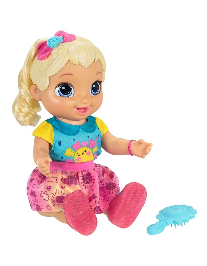 Baby Alive - Baby Grows Up Happy - Happy Hope or Merry Meadow - Growing & Talking Baby Doll with Surprise Accessories image 5
