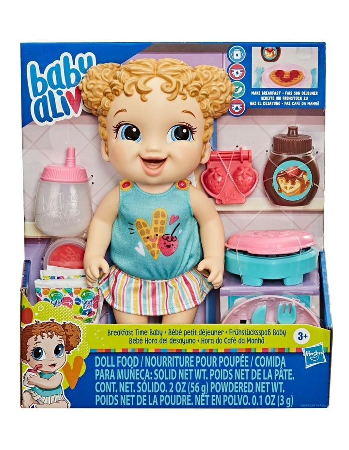 Baby Alive Breakfast Time Baby Doll image 2