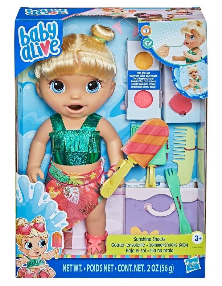 Baby Alive Sunshine Snacks, Blonde Hair image 1