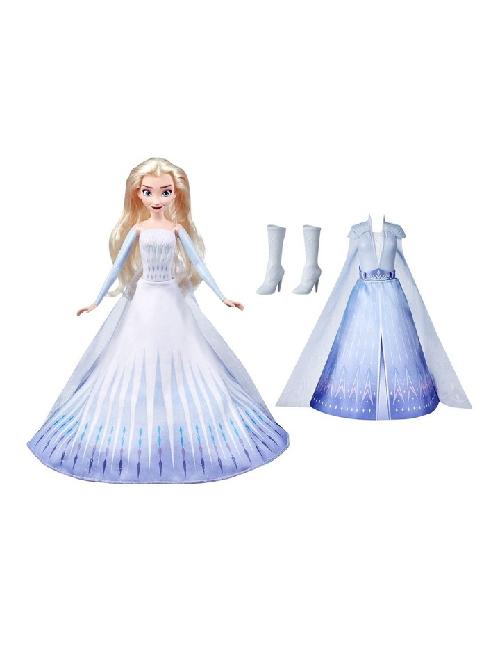 Elsa's Transformation Fashion Doll With 2 Outfits & 2 Hair Styles image 1