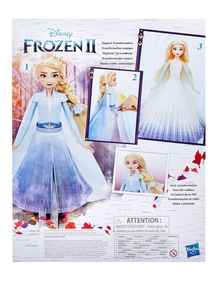 Elsa's Transformation Fashion Doll With 2 Outfits & 2 Hair Styles image 3