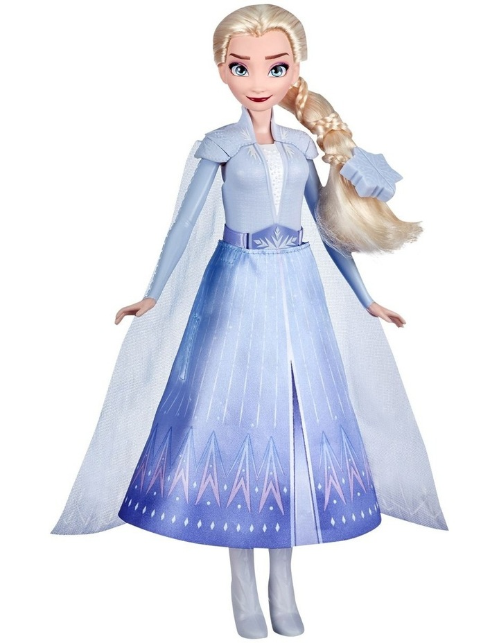 Elsa's Transformation Fashion Doll With 2 Outfits & 2 Hair Styles image 4