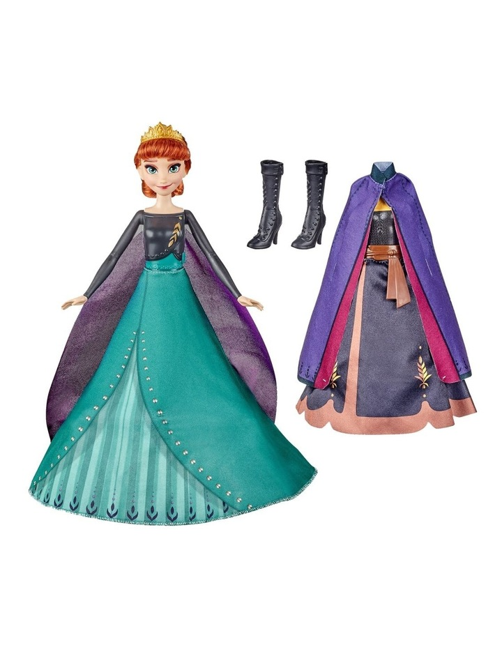 Anna's Queen Transformation Fashion Doll With 2 Outfits & 2 Hair Styles image 1