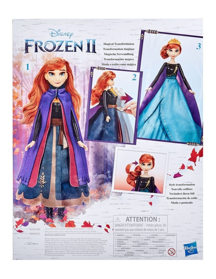 Anna's Queen Transformation Fashion Doll With 2 Outfits & 2 Hair Styles image 3