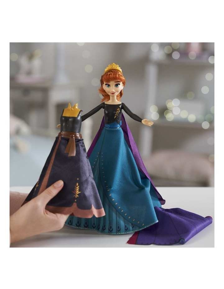 Anna's Queen Transformation Fashion Doll With 2 Outfits & 2 Hair Styles image 6