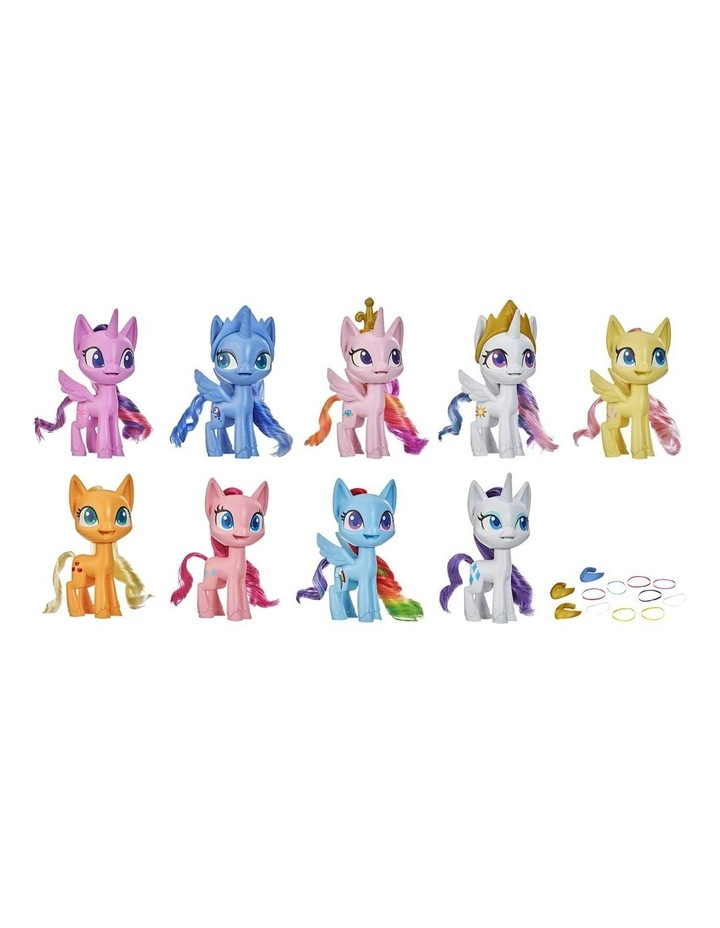 """Mega Friendship Collection 5"""" Toy Pony Set of 9 - Brushable Hair, Comb & 15 Accessories image 1"""