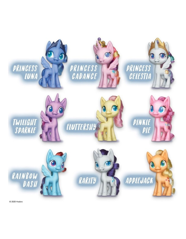 """Mega Friendship Collection 5"""" Toy Pony Set of 9 - Brushable Hair, Comb & 15 Accessories image 4"""