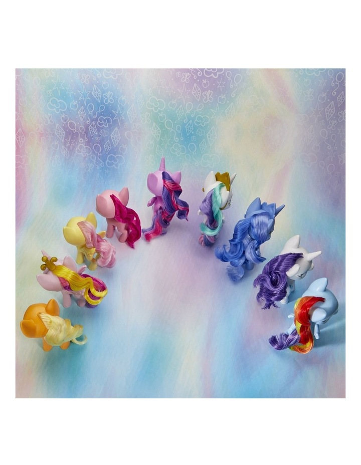 """Mega Friendship Collection 5"""" Toy Pony Set of 9 - Brushable Hair, Comb & 15 Accessories image 7"""