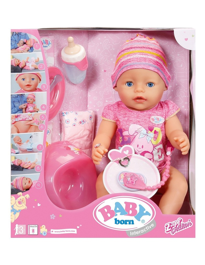 Baby Born Interactive Doll Myer