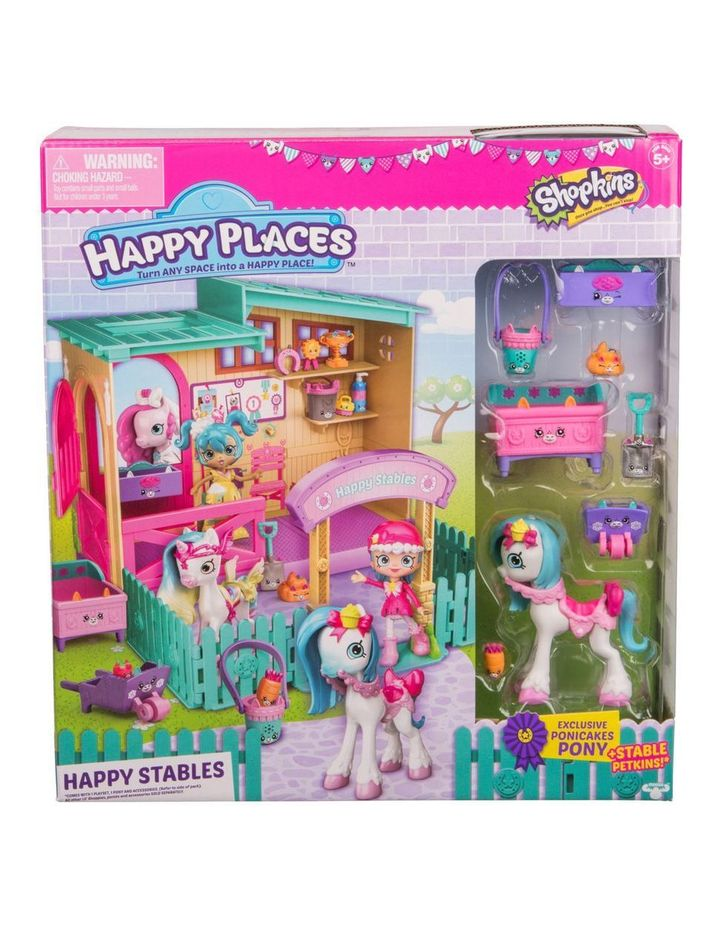 Happy Places Happy Stable Playset image 1