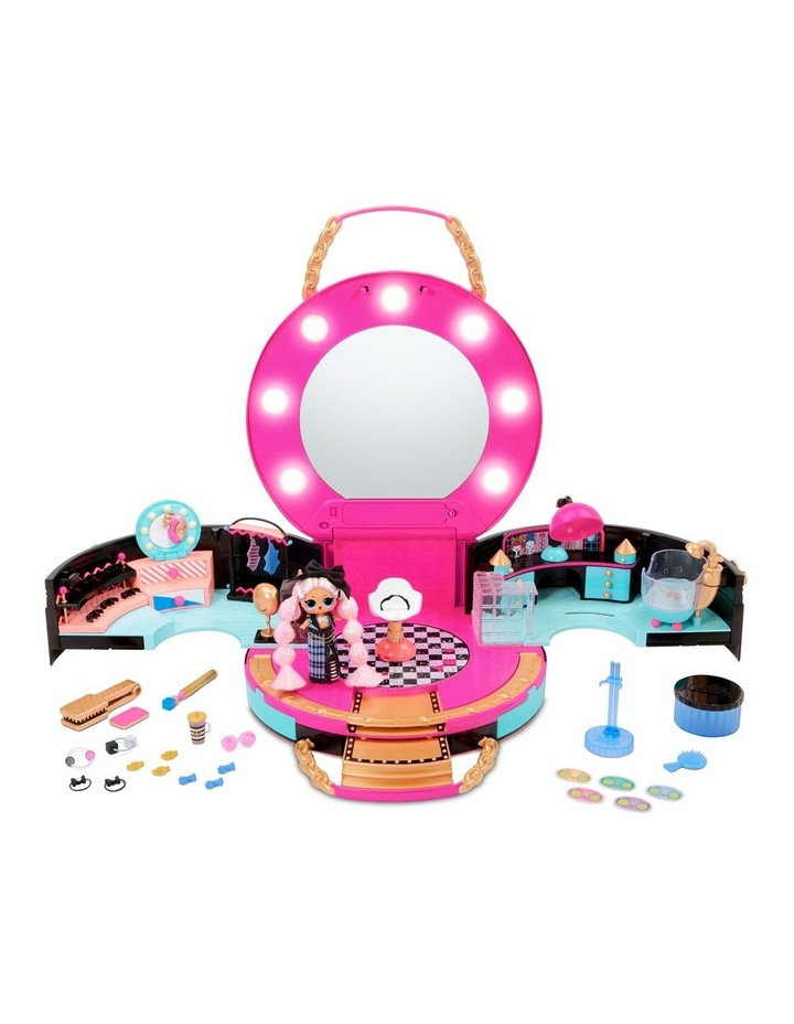 L.O.L. Surprise! Hair Salon Playset with 50 Surprises and Exclusive Mini Fashion Doll image 1