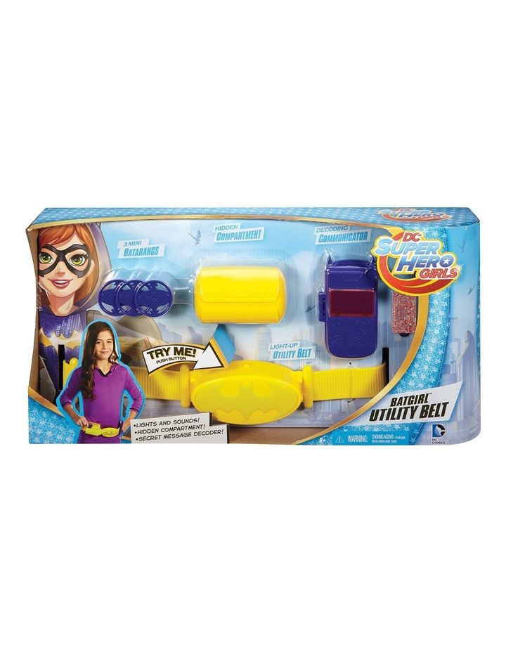 5835e0b907 Super Hero Girls Batgirl s Utility Belt image 1