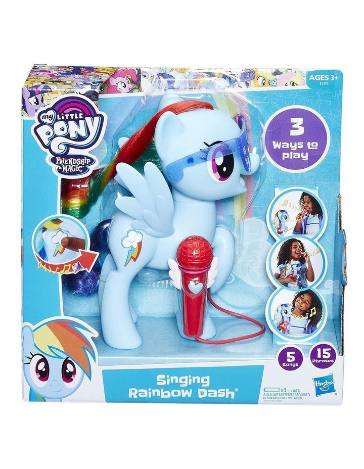 Singing Rainbow Dash image 1