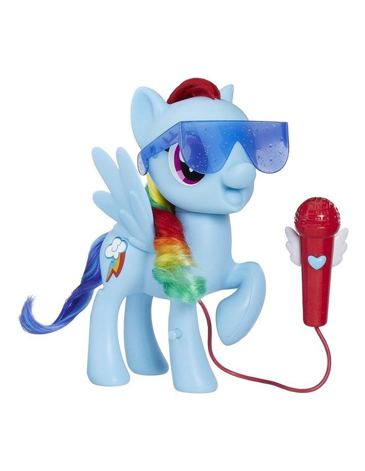 Singing Rainbow Dash image 2