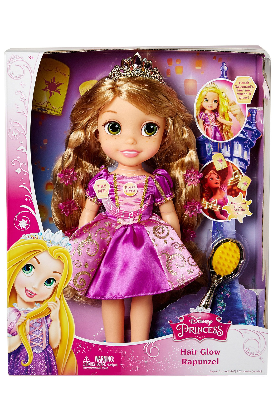 Disney Princess Magic Hair Glow Rapunzel Myer Online