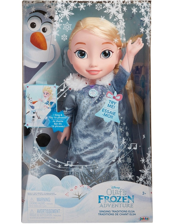 Singing Traditions Feature Elsa Doll image 1
