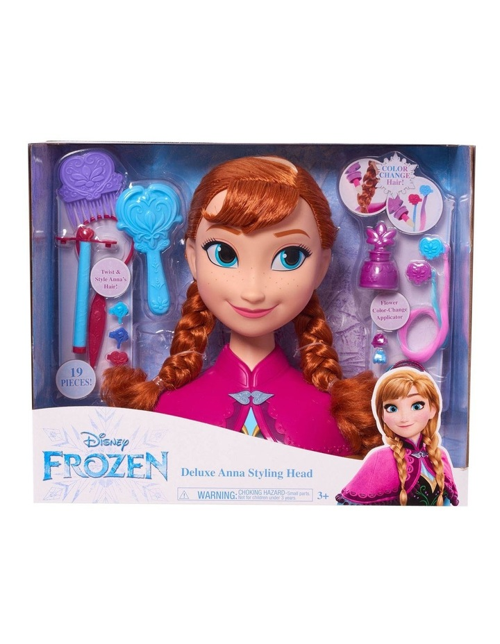 Frozen Anna Styling Head - Deluxe image 1