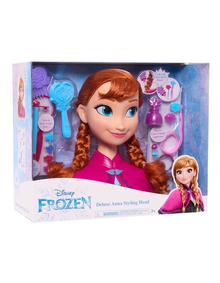 Frozen Anna Styling Head - Deluxe image 2
