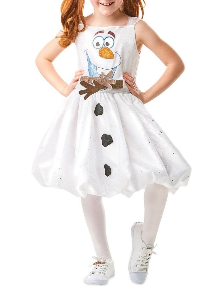 Olaf Frozen 2 Tutu Dress - Size 4-6 Years image 1