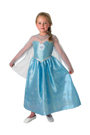 Sheu0027ll look just like Queen Elsa in this magical DISNEY FROZEN costume.  sc 1 st  Myer : costume elsa frozen disney  - Germanpascual.Com