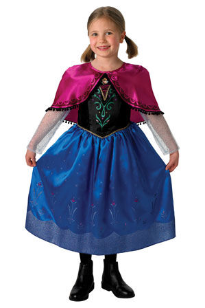 Sheu0027ll look just like Princess Anna in this magical DISNEY FROZEN costume.  sc 1 st  Myer & Disney Frozen | Deluxe Anna Costume 3-5 9014 | Myer Online