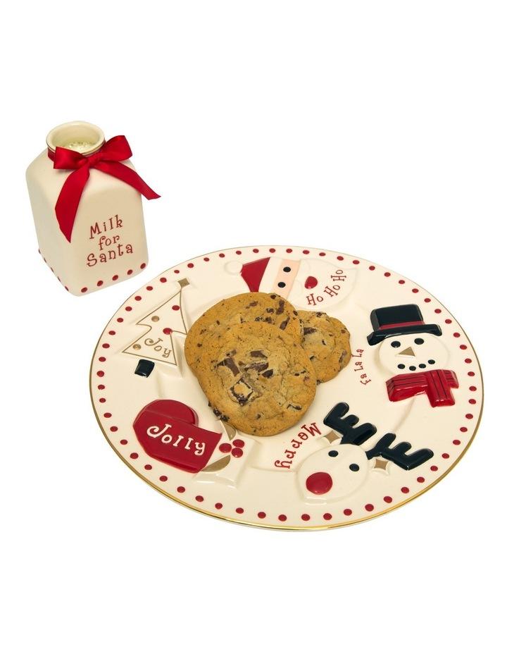 Santa Milk and Cookie 2 pc Set image 3