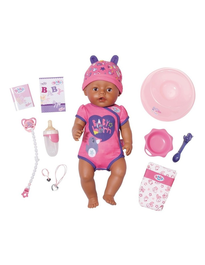 Baby Born Soft Touch Doll Brown Eyes image 2