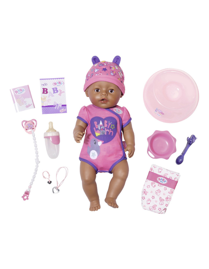 Baby Born Soft Touch Doll Brown Eyes image 1