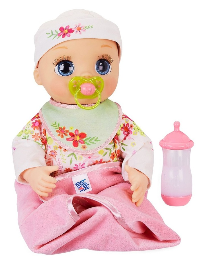 baby aLive Doll - Real As Can Be Blonde Hair Baby Doll - 80  Expressions, Movements & Sounds image 2