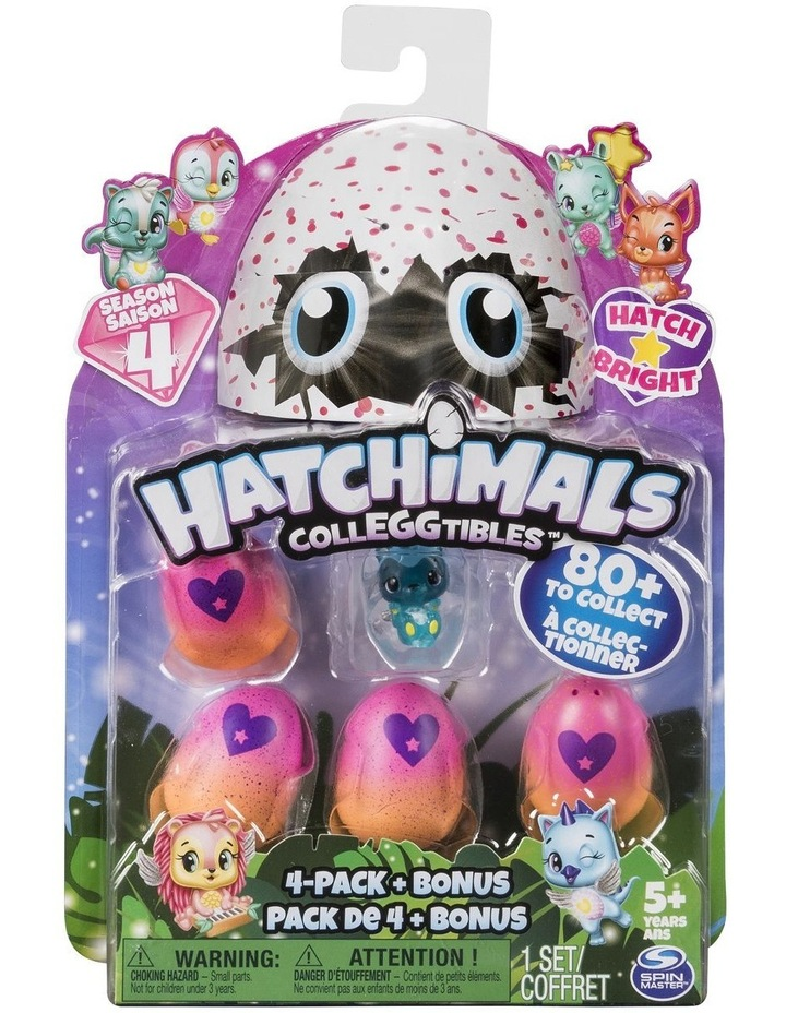 Hatchimals Colleggtibles S4 4-PK Bonus image 1