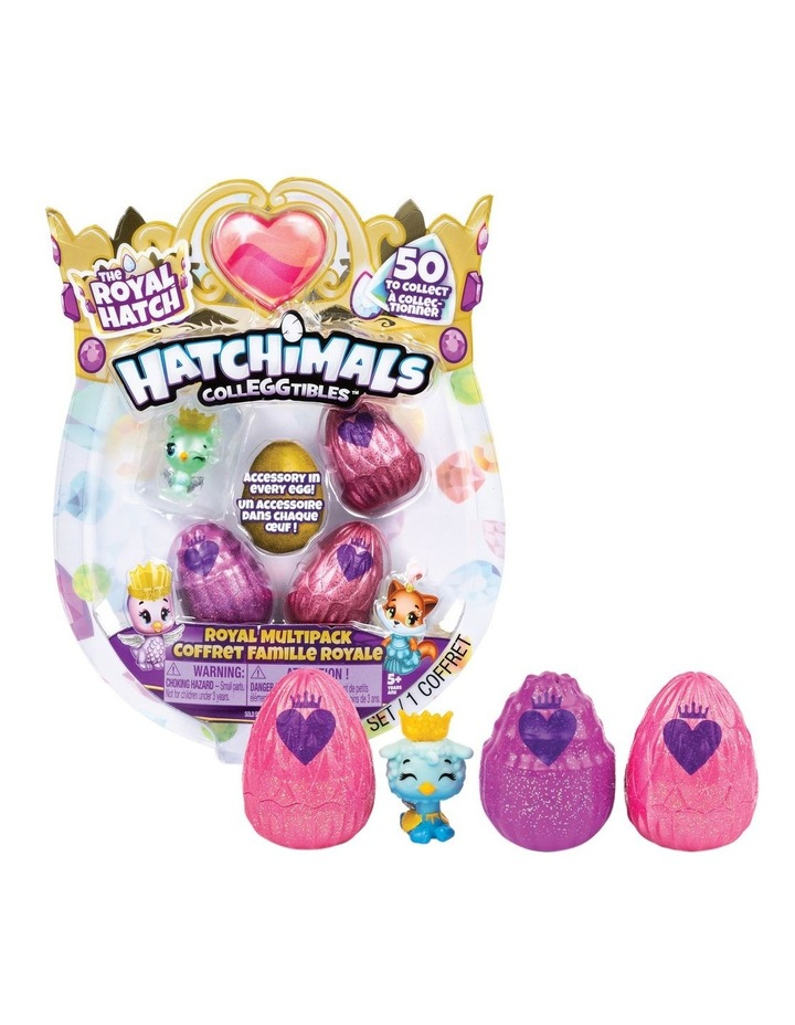Hatchimals Colleggtibles S6 Royal Multipack image 1