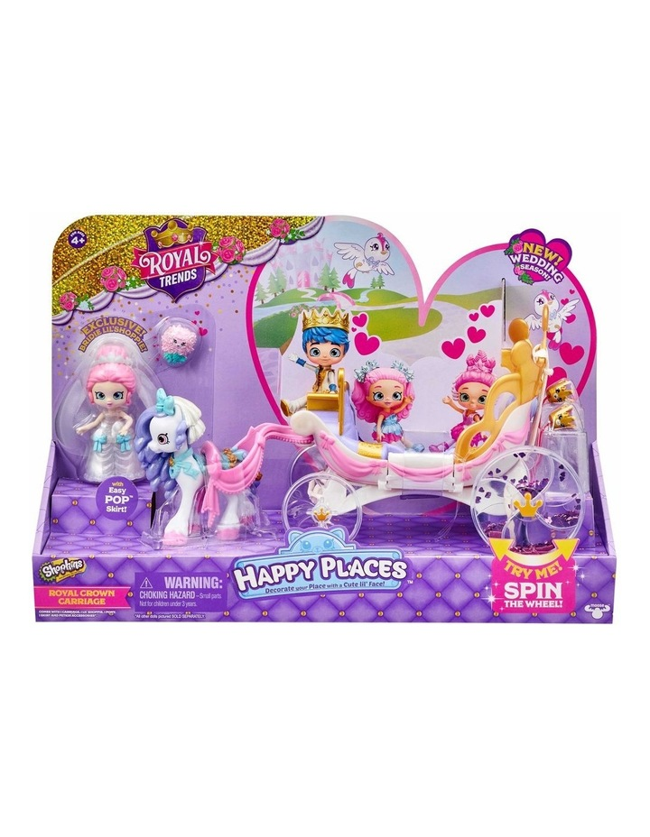 Shopkins Happy Places Royal Wedding Carriage image 1
