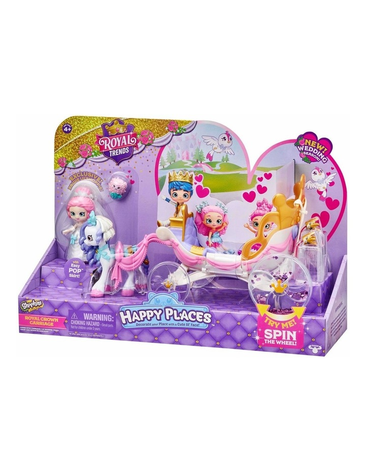 Shopkins Happy Places Royal Wedding Carriage image 3