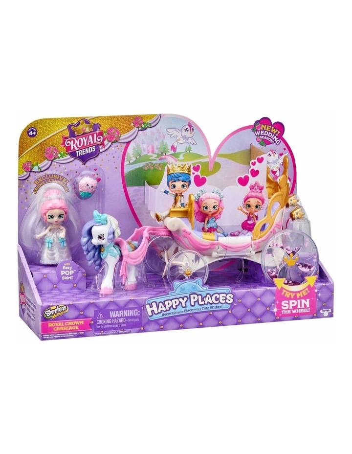 Shopkins Happy Places Royal Wedding Carriage image 5