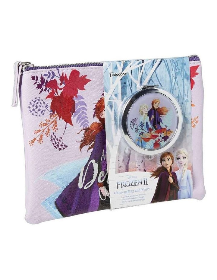 Frozen 2 Cosmetic Purse and Mirror Set image 1