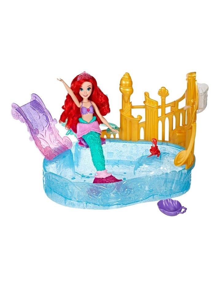 Ariel Doll & Sparkling Lagoon Play Set with Sebastian the Crab image 3