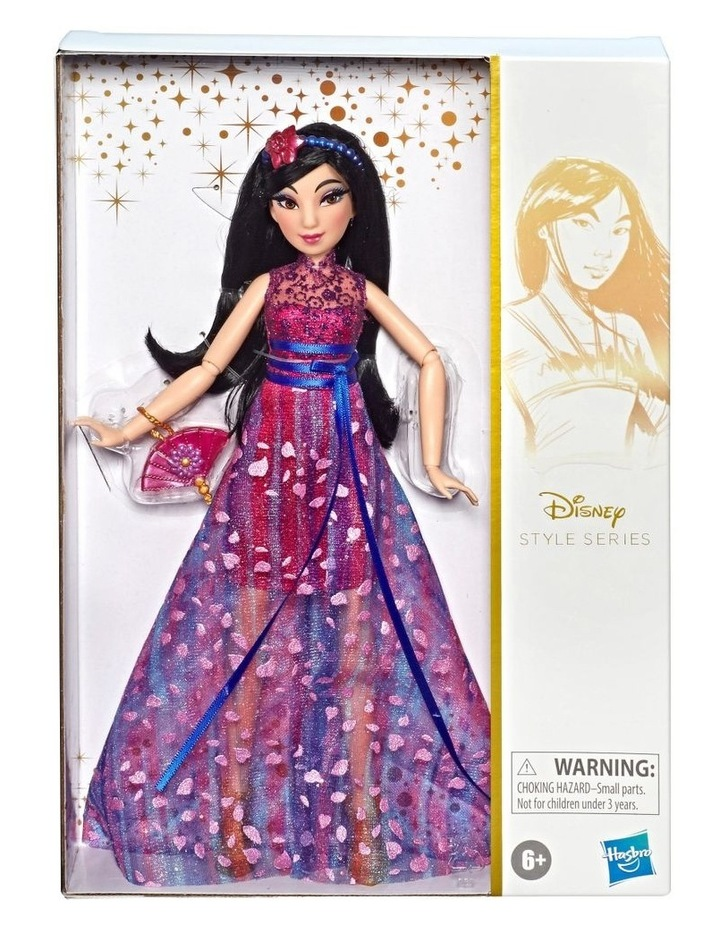 Style Series Dolls Ariel/Belle/Mulan Assortment image 5